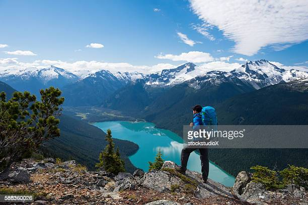 living an active lifestyle - garibaldi park stock pictures, royalty-free photos & images