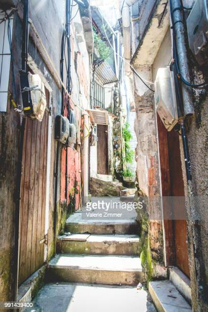 living at the top - favela stock pictures, royalty-free photos & images