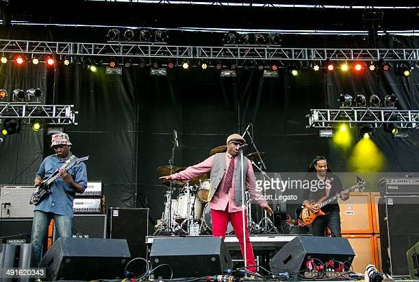 Living Colour performs during 2014 Rock On The Range at Columbus Crew Stadium on May 16 2014 in Columbus Ohio