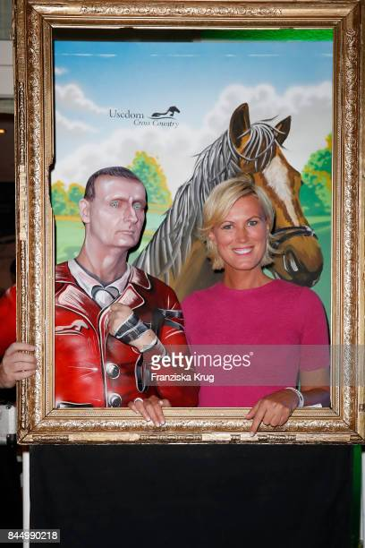 Living Doll Performer JOHNman and Kamilla Senjo attend the Till Demtroeders CharityEvent 'Usedom Cross Country' on September 9 2017 at Steigenberger...