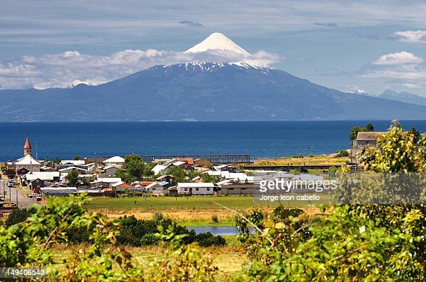 Living  front  of Volcano - Llanquihue (Chile)