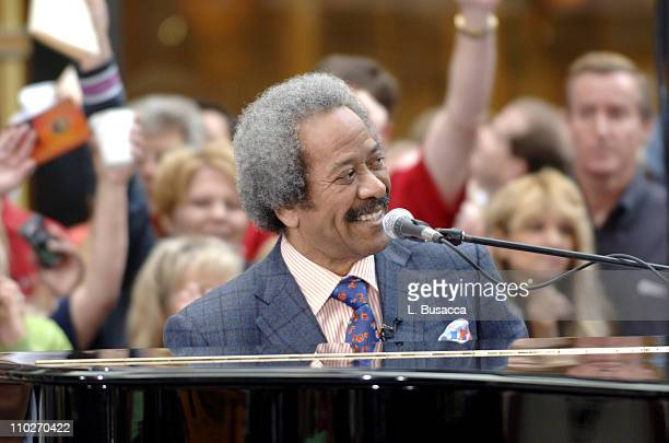 RB living legend Allen Toussaint performs in support of 'Make a Difference Today' the hurricane relief initiative by NBC News' 'Today' WMG and...