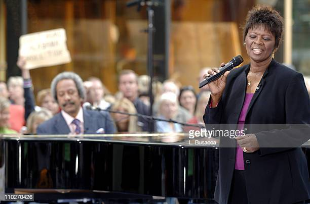 RB living legends Allen Toussaint and Irma Thomas perform in support of 'Make a Difference Today' the hurricane relief initiative by NBC News'...