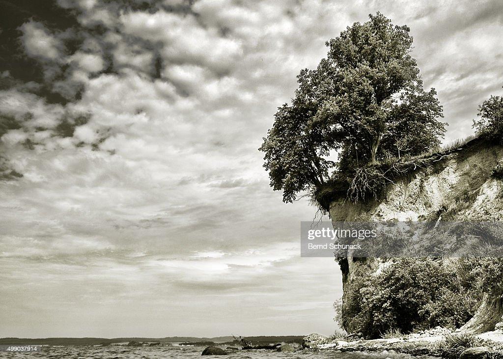 Living on the edge : Stock-Foto