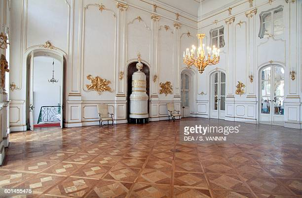 Living room Eszterhazy castle Fertod GyorMosonSopron Hungary 18th century