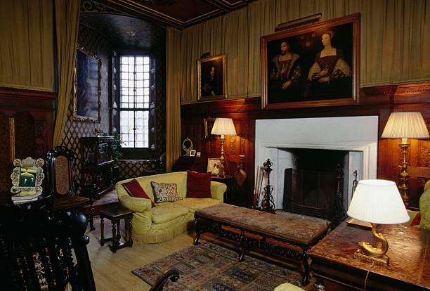 Living Room Falkland Palace Scotland