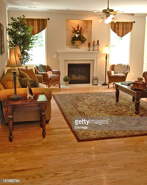 Living room in home interior