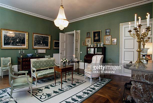 Living room in the Chateau de Salans FrancheComte France