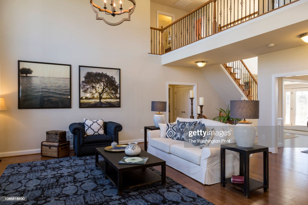 living room in the model home at oakland hall on january 11 2019 in rh gettyimages ae models 2019 new fashion models 2017