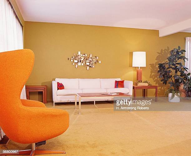 Living room interior couch with sofa