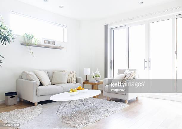 living room - ソファ 無人 ストックフォトと画像