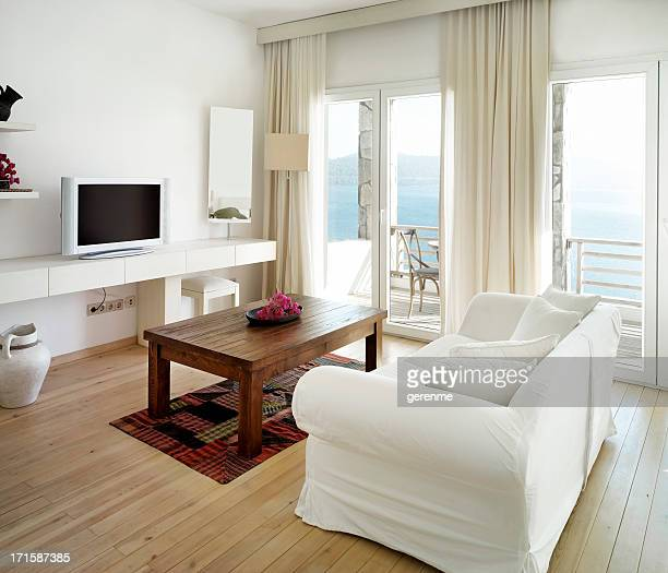 living room - aegean turkey stock pictures, royalty-free photos & images
