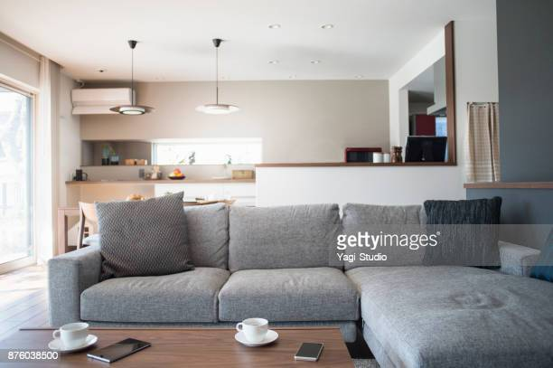 living room - sofa stock pictures, royalty-free photos & images