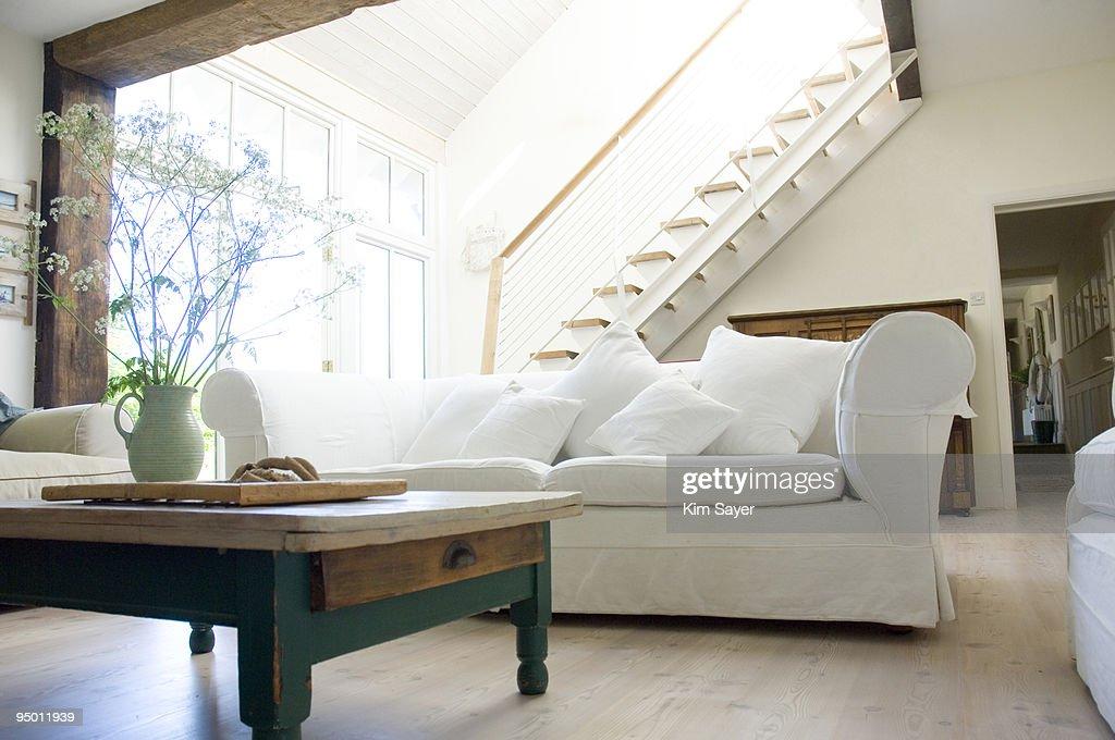 Living room showcase interior : Bildbanksbilder