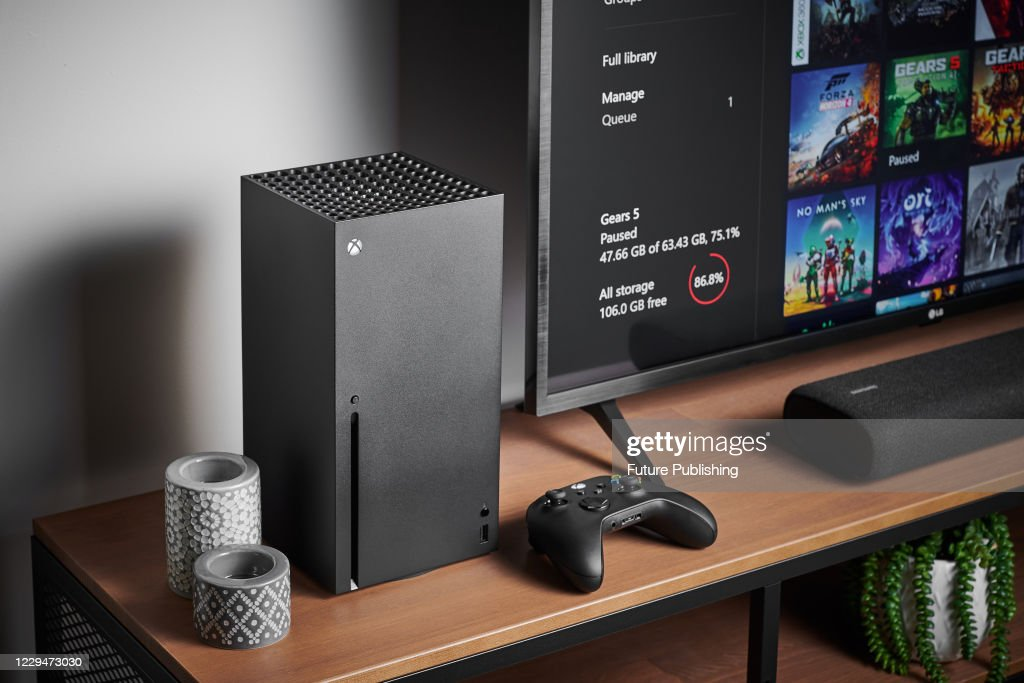 Xbox Series X Console : News Photo