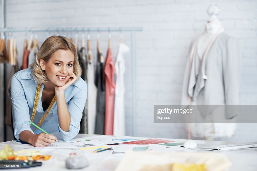 Living the fashion dream : Stock Photo