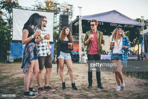 Het festival leven