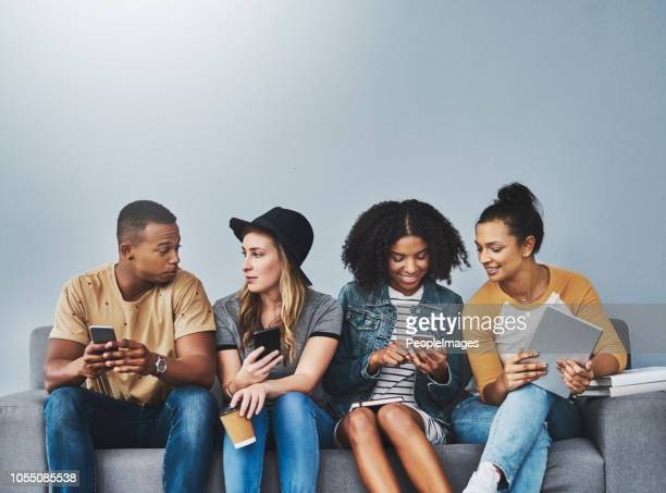 Living their lives online