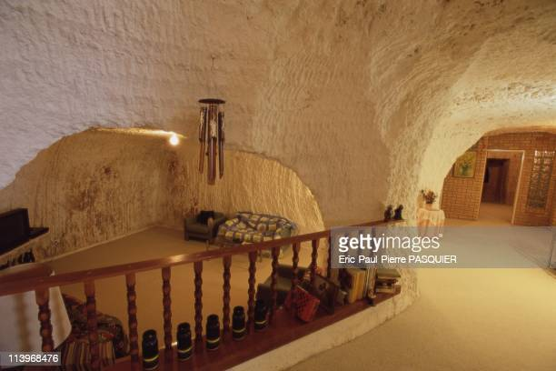 Living Underground In Coober Pedy AustraliaInside one of Coober Pedy's subterranean dwellings Often they are fitted with all of the latest modern...