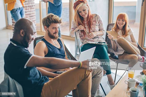 living, working and playing under one roof. - day in the life stock photos and pictures