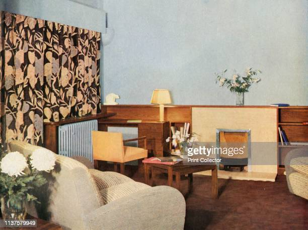 Living-room in Miss Dinshaw's apartment at Stockleigh Hall, Regent's Park, London, designed and carried out by Gordon Russell Ltd.', 1937. From...