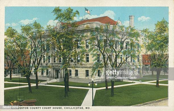 Livingston County Court House Chillicothe Missouri 1926