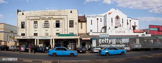 livingstone old town near victoria falls - ザンビア ストックフォトと画像