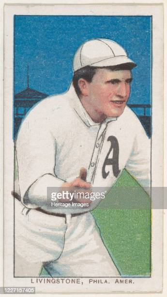 Livingstone Philadelphia American League from the White Border series for the American Tobacco Company 190911 Artist American Tobacco Company