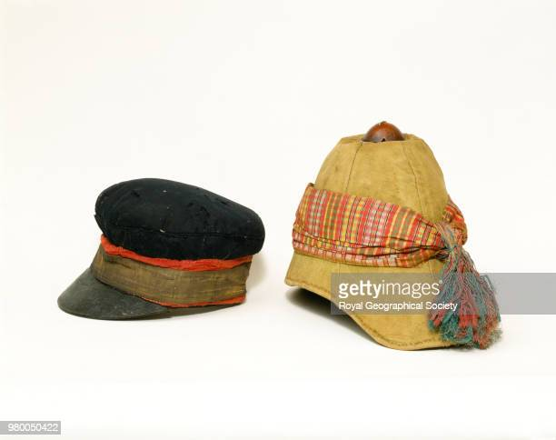 Livingstone's cap and Stanley's helmet These were the hats worn by Dr David Livingstone and Henry Morton Stanley when they met at Ujiji Livingstone's...