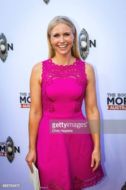 Livinia Nixon arrives ahead of The Book of Mormon opening night at Princess Theatre on February 4 2017 in Melbourne Australia