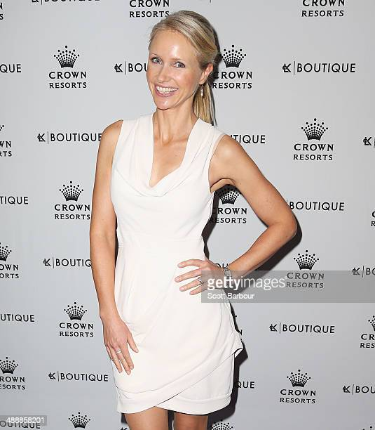 Livinia Nixon arrives at Crown's Celebrity Mother's Day Luncheon at Crown on May 9 2014 in Melbourne Australia
