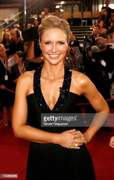 Livinia Nixon arrives at the 2007 TV Week Logie Awards at the Crown Casino on May 6 2007 in Melbourne Australia The annual television awards sees...