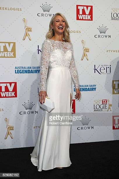 Livinia Nixon arrives at the 58th Annual Logie Awards at Crown Palladium on May 8 2016 in Melbourne Australia