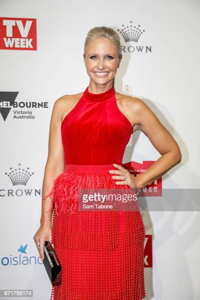 Livinia Nixon arrives at the 59th Annual Logie Awards at Crown Palladium on April 23 2017 in Melbourne Australia