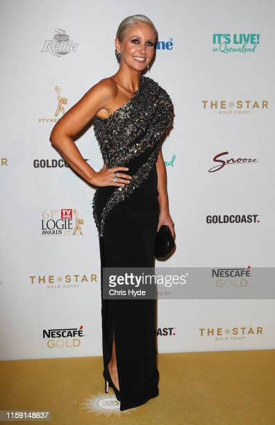 Livinia Nixon arrives at the 61st Annual TV WEEK Logie Awards at The Star Gold Coast on June 30 2019 on the Gold Coast Australia