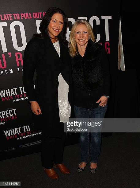 Livinia Nixon arrives at the 'What to Expect When You're Expecting' celebrity mum screening at The Jam Factory on May 24 2012 in Melbourne Australia