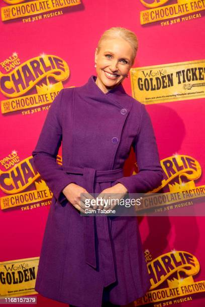 Livinia Nixon attends the Charlie And The Chocolate Factory Opening Night at Her Majesty's Theatre on August 15 2019 in Melbourne Australia