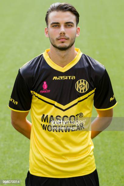 Livio Milts of Roda JC during the Photocall Roda JC at the Parkstad Limburg Stadium on July 12 2018 in Kerkrade Netherlands