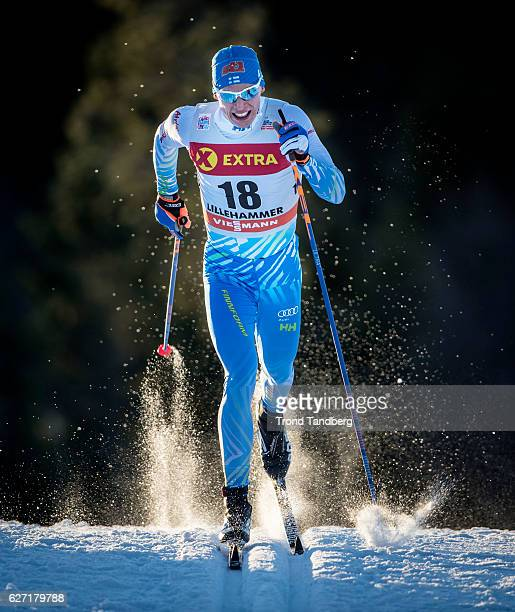Livo Niskanen of Finland competes during the men's Sprint C race on December 2 2016 in Lillehammer Norway