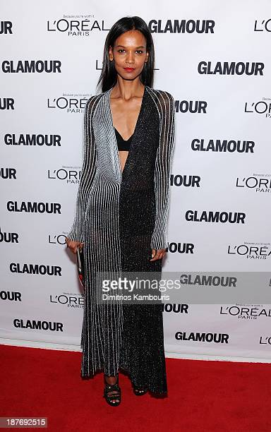 Liya Kebede attends Glamour's 23rd annual Women of the Year awards on November 11 2013 in New York City