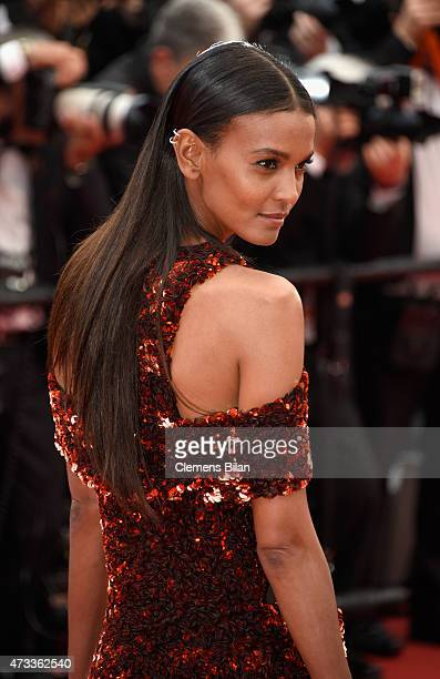 Liya Kebede attends Premiere of 'Mad Max Fury Road' during the 68th annual Cannes Film Festival on May 14 2015 in Cannes France