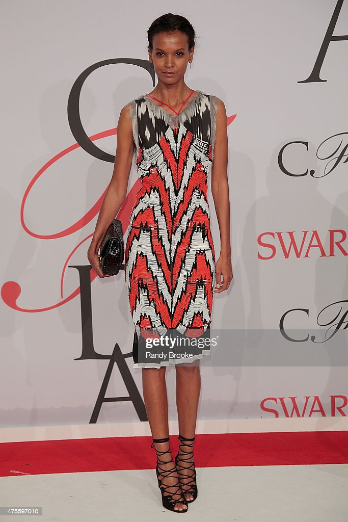 Liya Kebede attends the 2015 CFDA Fashion Awards at Alice Tully Hall at Lincoln Center on June 1, 2015 in New York City.