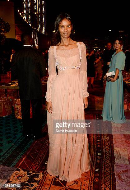 Liya Kebede attends the Gala Event during the Vogue Fashion Dubai Experience on October 31 2014 in Dubai United Arab Emirates