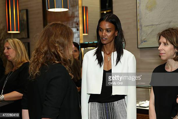 Liya Kebede Attends The And David Yurman Hosted In Event To Benefit