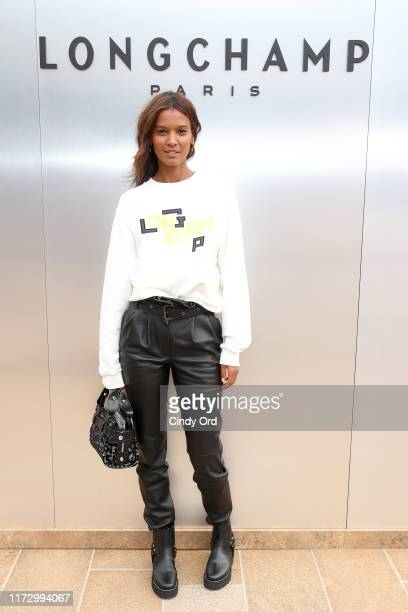 Liya Kebede attends the Longchamp SS20 Runway Show at Hearst Plaza Lincoln Center on September 07 2019 in New York City