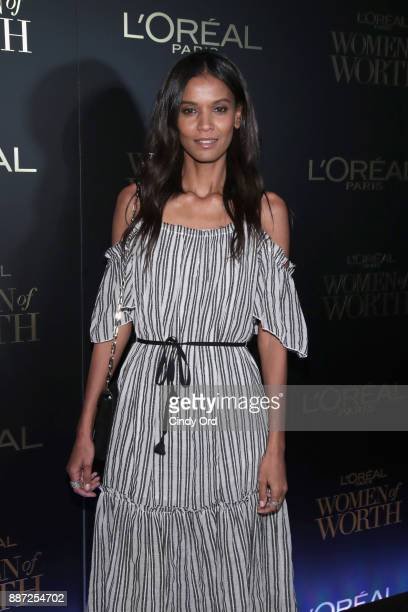 Liya Kebede attends the L'Oreal Paris Women of Worth Celebration 2017 on December 6 2017 in New York City