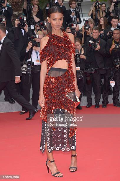 "Liya Kebede attends the ""Mad Max : Fury Road"" Premiere during the 68th annual Cannes Film Festival on May 14, 2015 in Cannes, France."