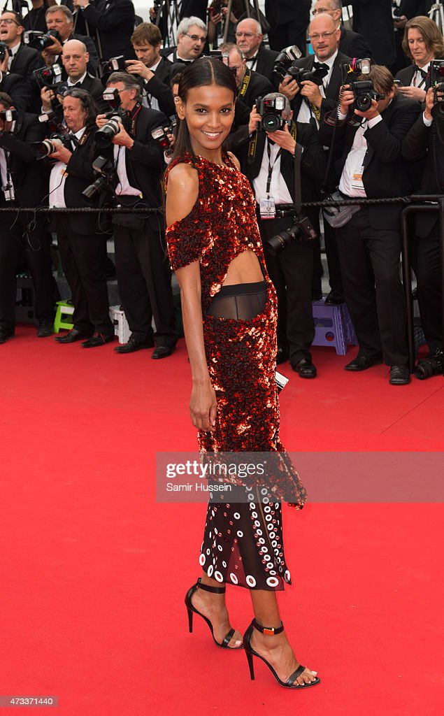 Liya Kebede attends the 'Mad Max : Fury Road' Premiere during the 68th annual Cannes Film Festival on May 14, 2015 in Cannes, France.