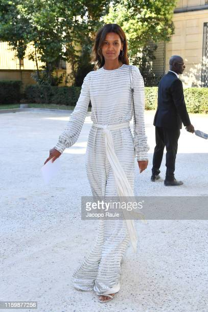 Liya Kebede attends the Valentino Haute Couture Fall/Winter 2019 2020 show as part of Paris Fashion Week on July 03 2019 in Paris France