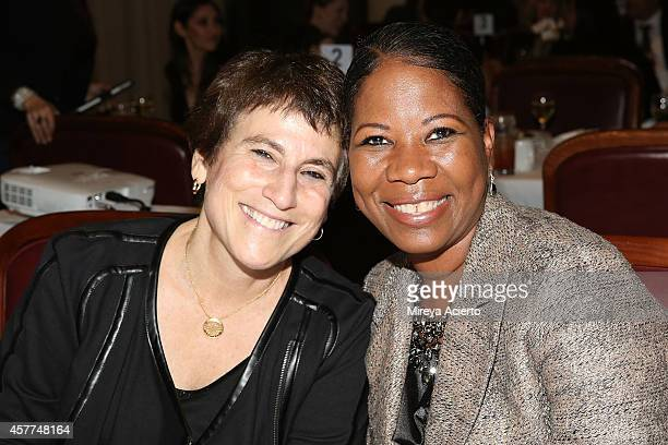 Liz Abzug and Dara RichardsonHeron attend Top Corporate Allies For Diversity Gala at Club 101 on October 23 2014 in New York City